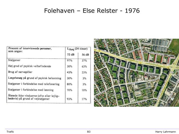 Folehaven else relster 1976