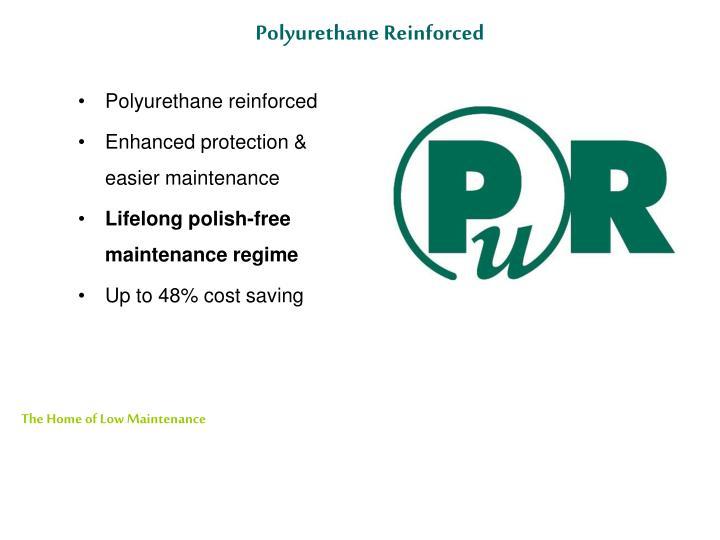 Polyurethane Reinforced