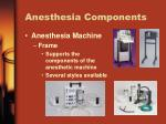 anesthesia components1