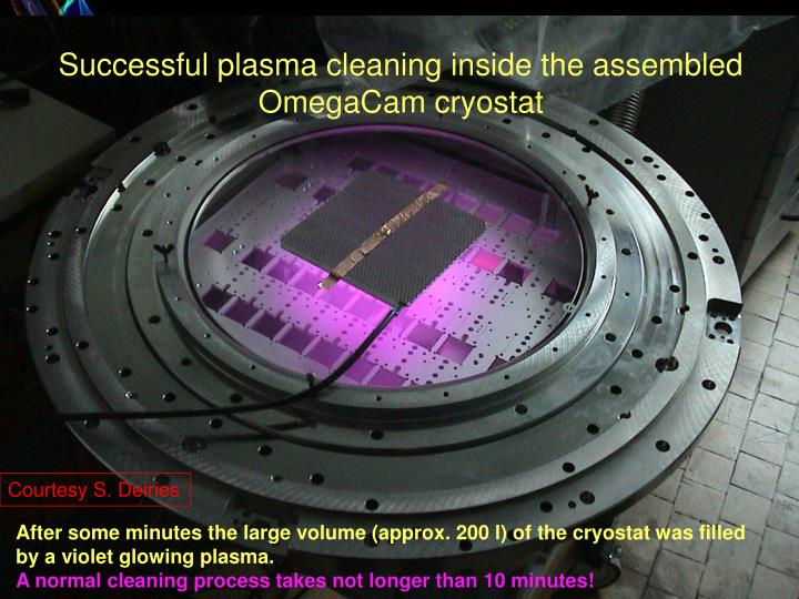Plasma cleaning devices