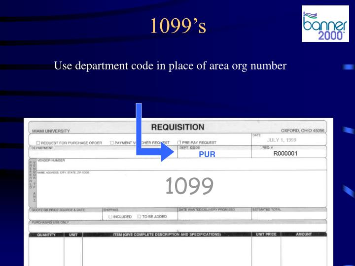 1099's