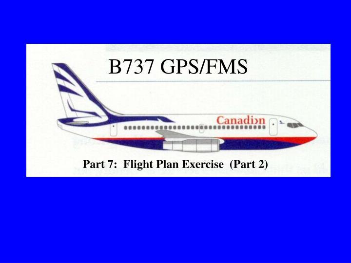 B737 gps fms