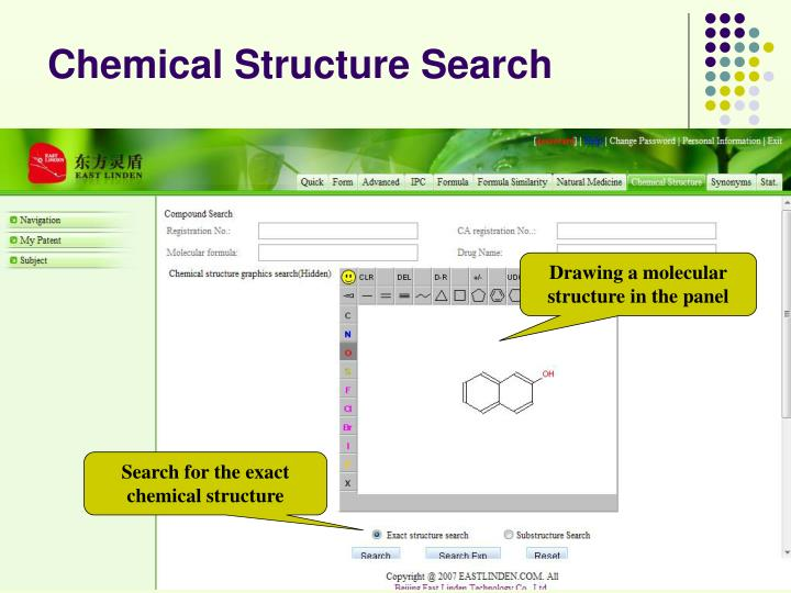 Chemical Structure Search