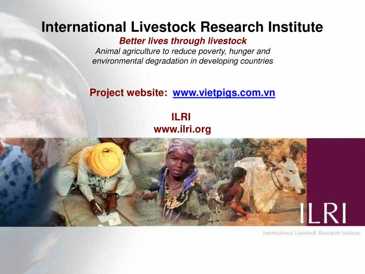 International Livestock Research Institute