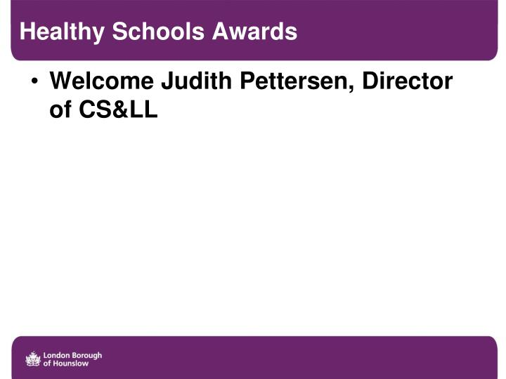 Healthy Schools Awards