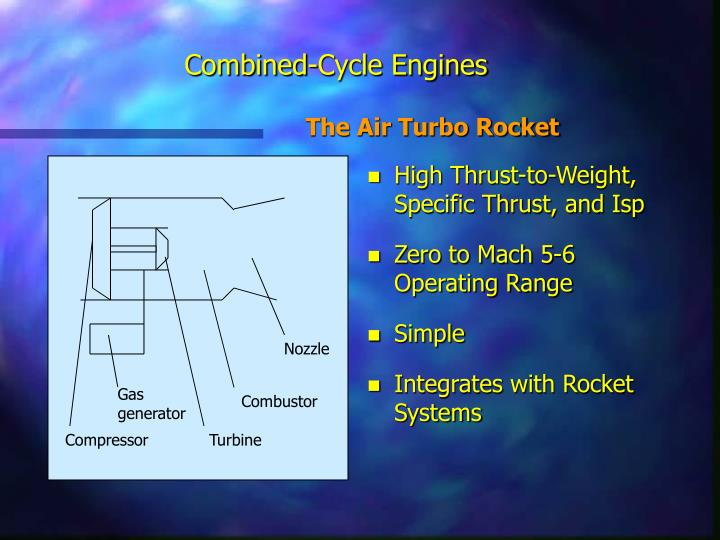 Combined-Cycle Engines