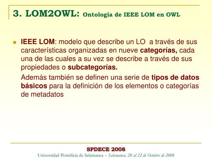 3. LOM2OWL: