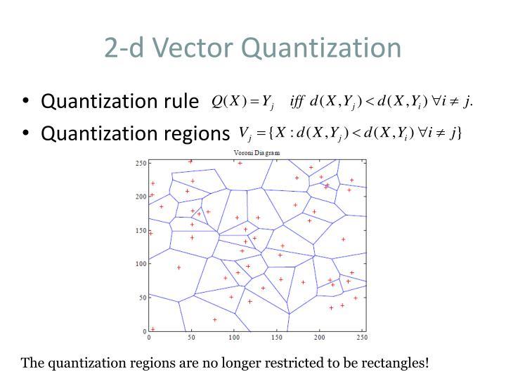 2-d Vector Quantization