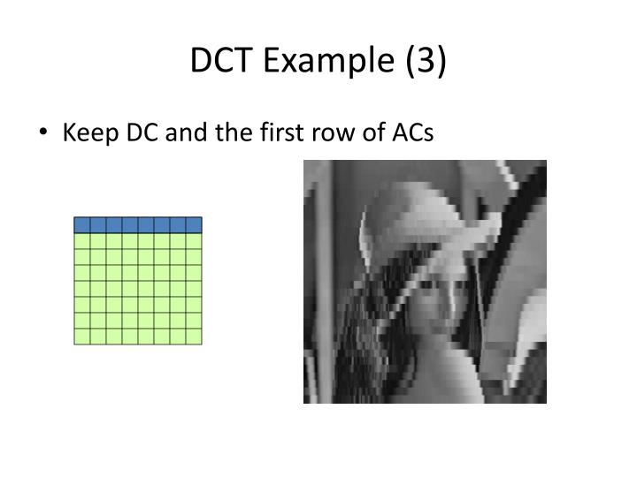 DCT Example (3)