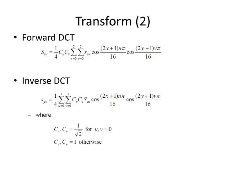 Transform (2)