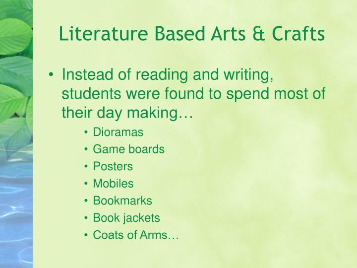 Literature Based Arts & Crafts