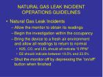 natural gas leak incident operations guidelines2