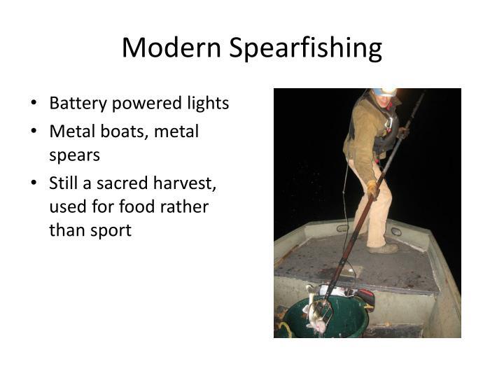 Modern Spearfishing