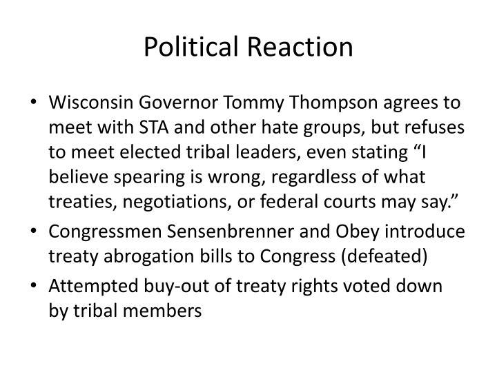 Political Reaction