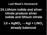 last week s homework11