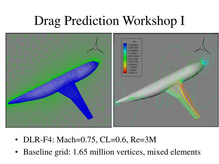 Drag Prediction Workshop I