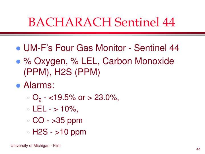 BACHARACH Sentinel 44