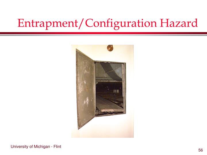 Entrapment/Configuration Hazard