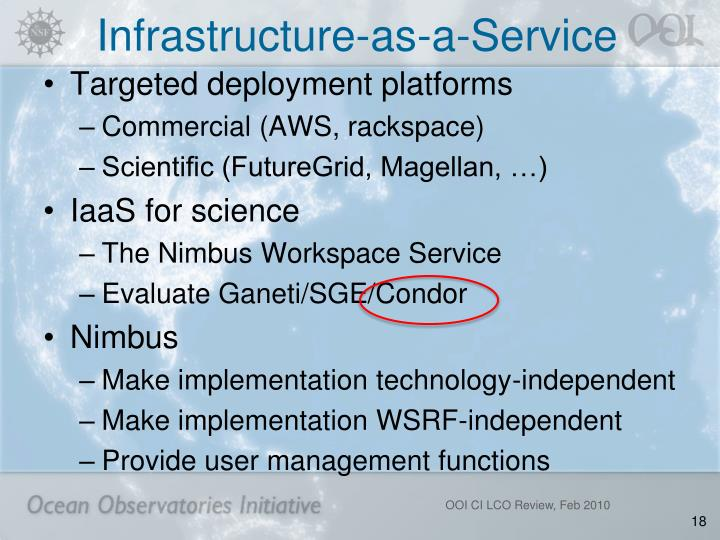 Infrastructure-as-a-Service