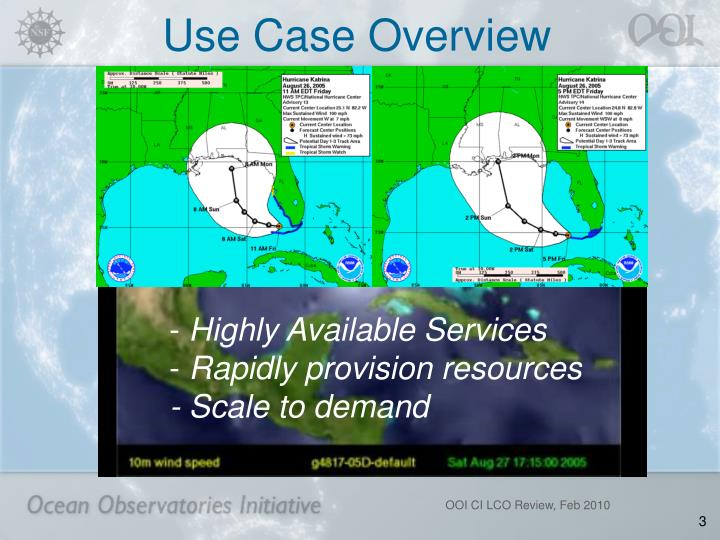Use case overview