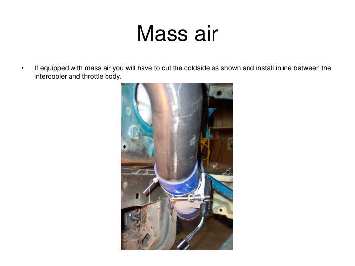 Mass air