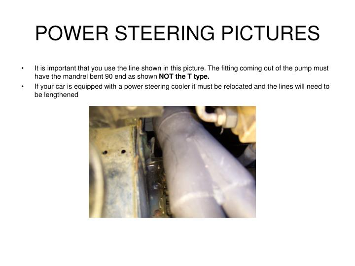POWER STEERING PICTURES