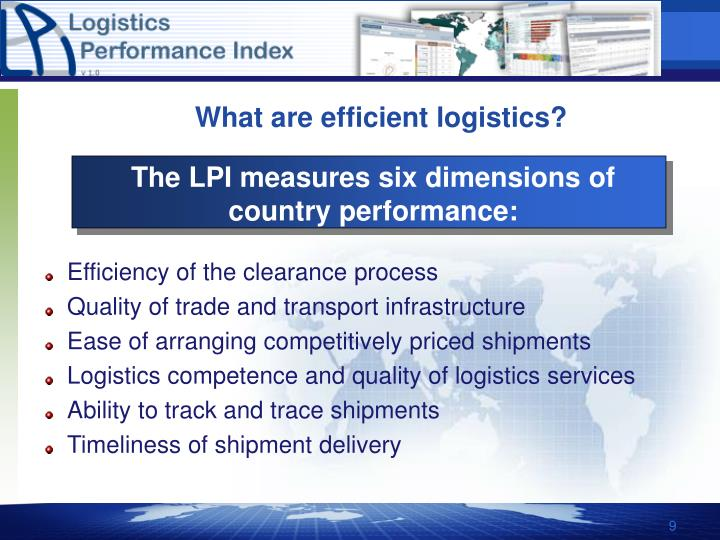 logistics performance definition and measurement The state of logistics performance measurement: according to definitions provided by fugate, mentzer, and stank (2010) shown in table 1.