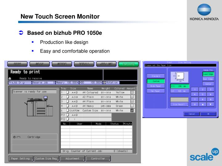 New Touch Screen Monitor