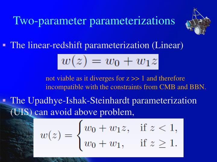Two-parameter parameterizations