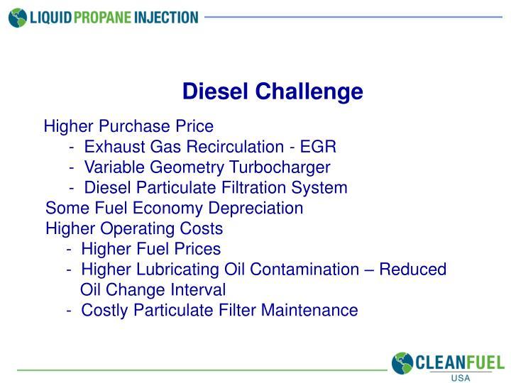 Diesel Challenge