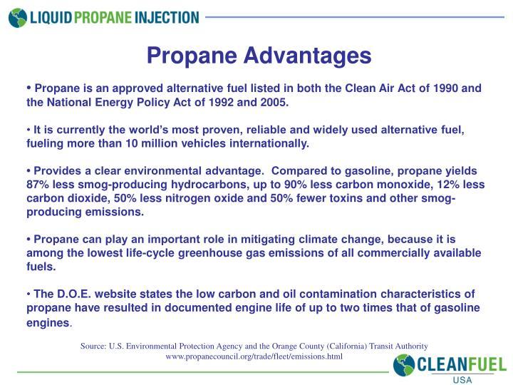 Propane Advantages