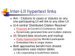 inter lii hypertext links