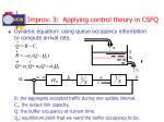 improv 3 applying control theory in csfq1