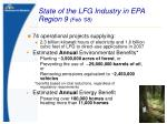 state of the lfg industry in epa region 9 feb 08