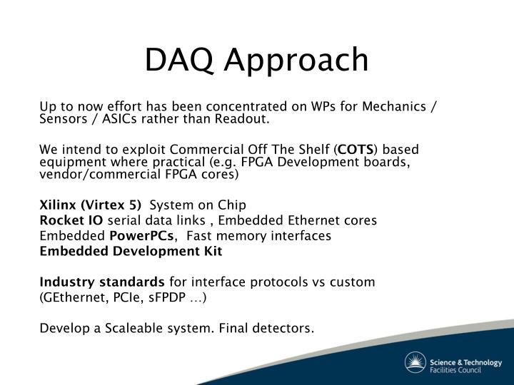 DAQ Approach