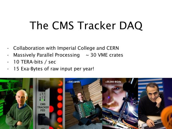The CMS Tracker DAQ