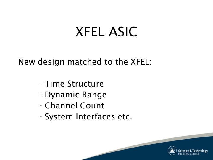 XFEL ASIC