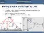 porting salsa annotations to lfg1
