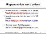 ungrammatical word orders2