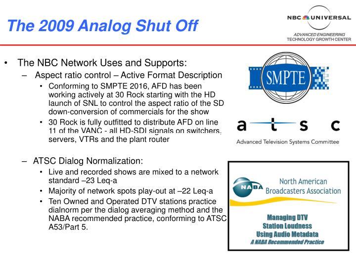 the 2009 analog shut off n.
