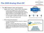 the 2009 analog shut off