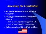amending the constitution3