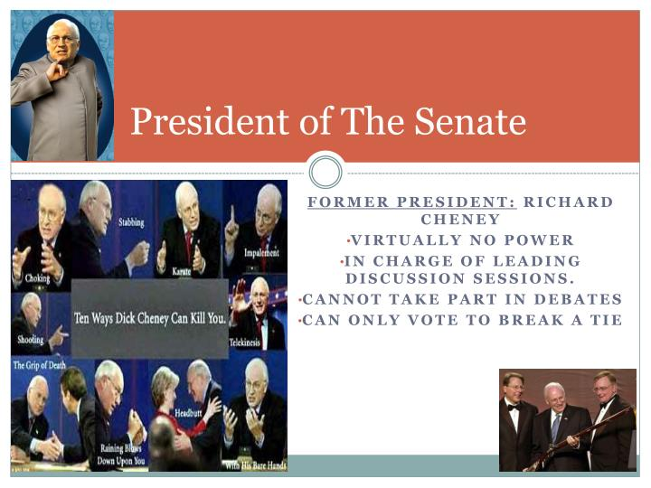 President of The Senate