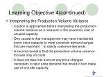 learning objective 4 continued