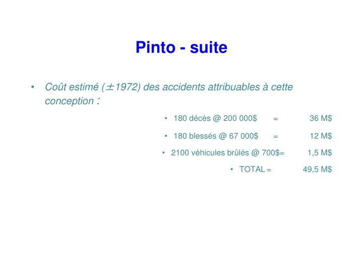 Pinto - suite