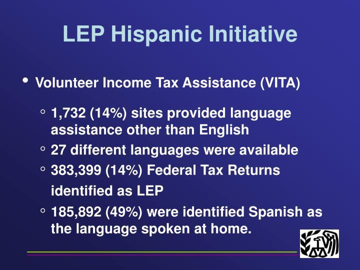 LEP Hispanic Initiative