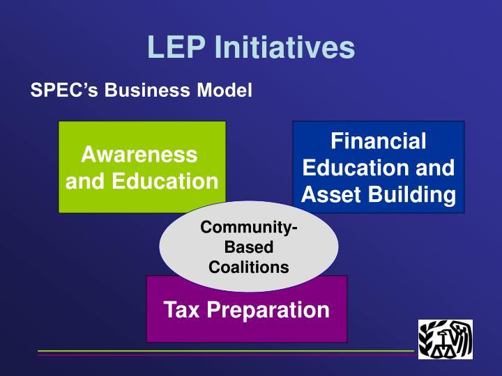 Lep initiatives1