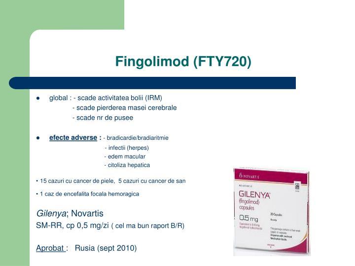Fingolimod (FTY720)