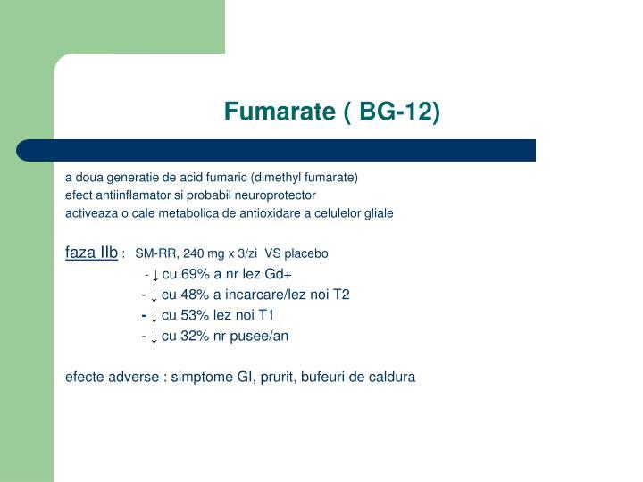 Fumarate ( BG-12)