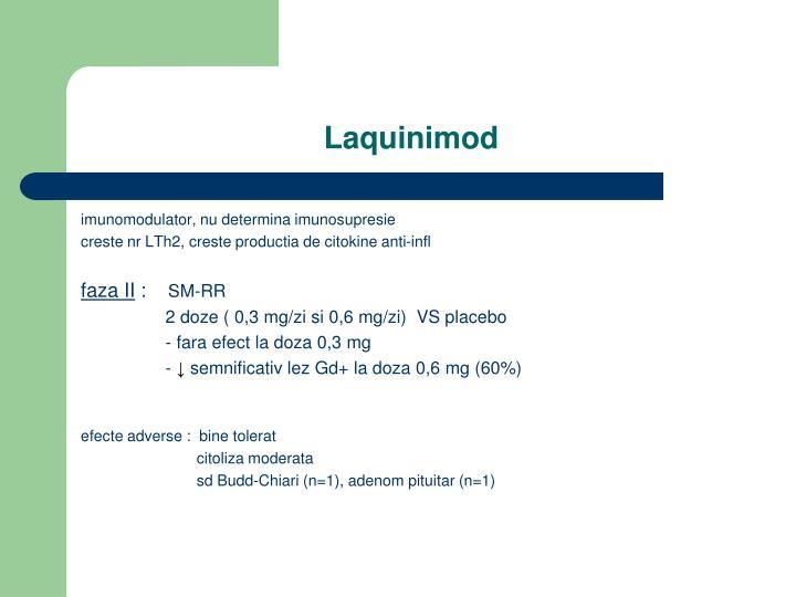 Laquinimod
